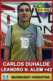 Carlos Duhalde - Leandro N. Alem +43