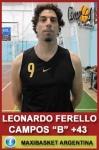 Leonardo Ferello - Campos de Echeverría B +43