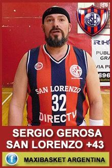 Sergio Gerosa - San Lorenzo +43