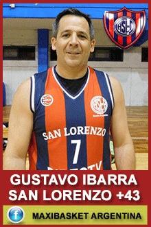 Gustavo Ibarra - San Lorenzo +43