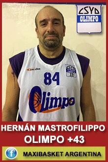 Hernán Mastrofilippo - Olimpo +43