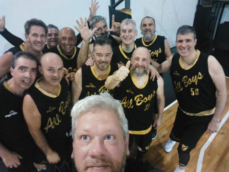 All Boys +50 - Campeón!!!