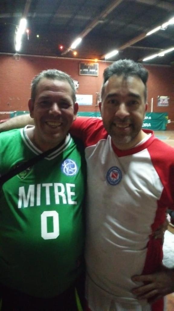 Esperanzas 3518 - Villa Mitre +35 vs Argentinos Jrs +35 - Juampi Roudill y Ale Brevis