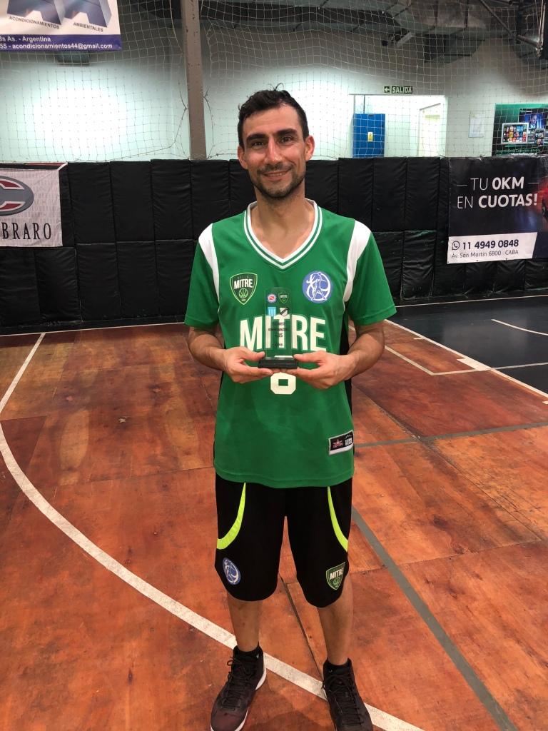 Esperanzas 3518 - Alejandro Paz - Villa Mitre +35 - 2° Goleador del Torneo